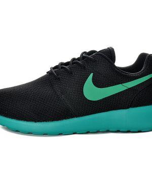 Nike Roshe Run Унисекс Черно-бирюзовые