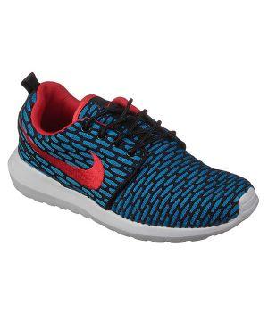 Nike Roshe Run Унисекс Сине-черные