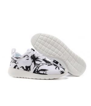 Nike Roshe Run Унисекс Palm Белые