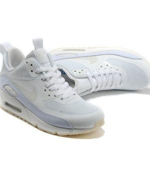 Nike Air Max 90 SneakerBoot Белые