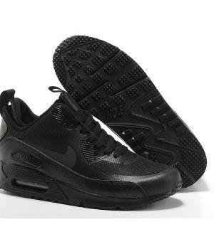 Nike Air Max 90 SneakerBoot Мужские Черные