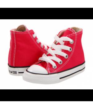 Converse Детские Высокие Красные (30-36)
