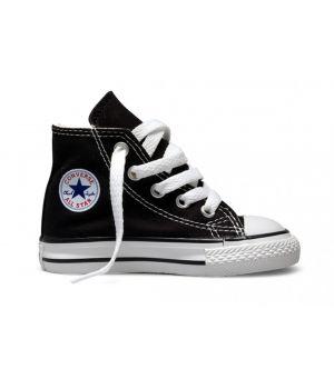 Converse Детские Высокие Черные (30-36)