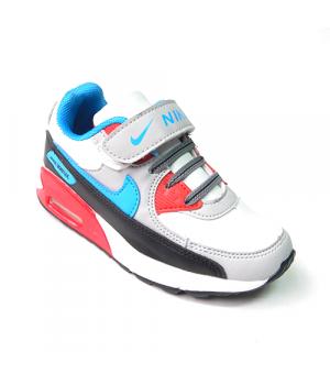 Nike Air Max 90 Детские Серо-черные (30-36)