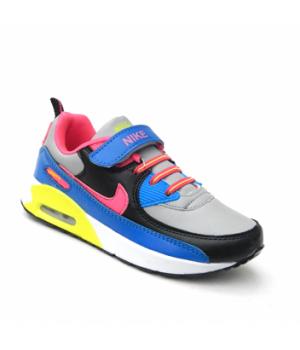 Nike Air Max 90 Детские Серо-голубые (30-36)