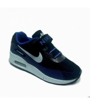 Nike Air Max 90 Детские Черно-синий (30-36)