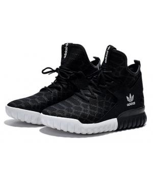 Adidas Tubular X Primeknit Черные (40-45)