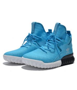 Adidas Tubular X Primeknit Синие (40-45)